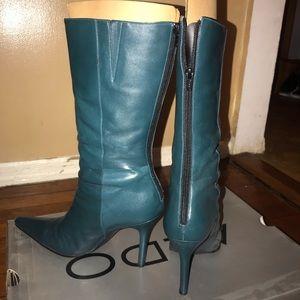 Teal Aldo Boots